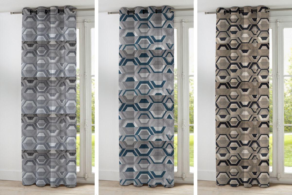 rideaux sur mesure profitez du superbe tissu double vue. Black Bedroom Furniture Sets. Home Design Ideas