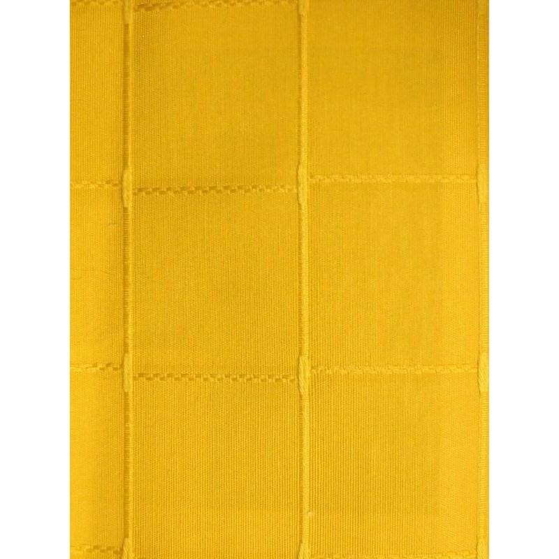 Isis moutarde nappe de table sur mesure 170x270cm 763757 - Nappe de table rectangulaire sur mesure ...