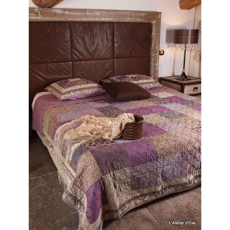 symetrical-parure-boutis-patchwork-240x260cm-2-taies-65x65cm-rose