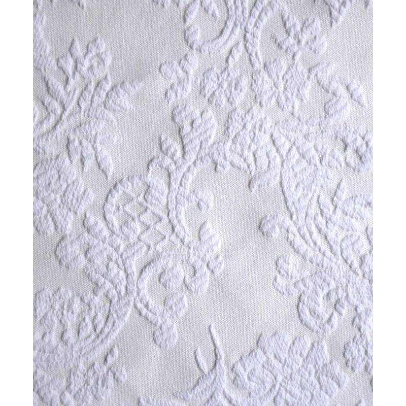 Madame 2 coloris Tissu ameublement jacquard brode L.270cm Thevenon 1671710 le metre