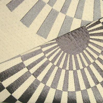 Canopee 2 coloris Rideau a oeillets pret a poser jacquard reversible 1680711 le rideau