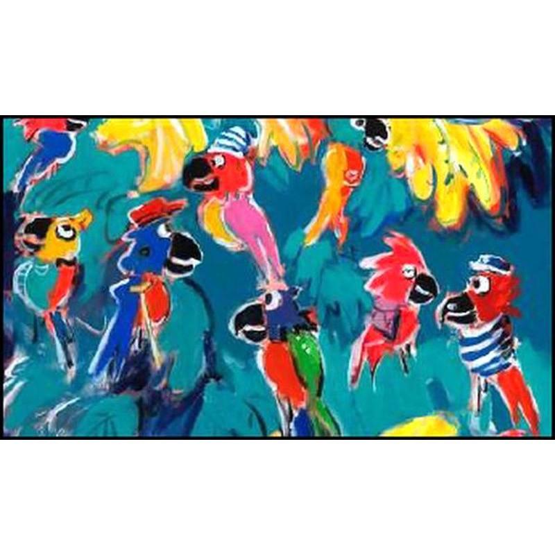 Tropik'Art - Tableau 93x130cm de Patrick Plattier pour Thevenon