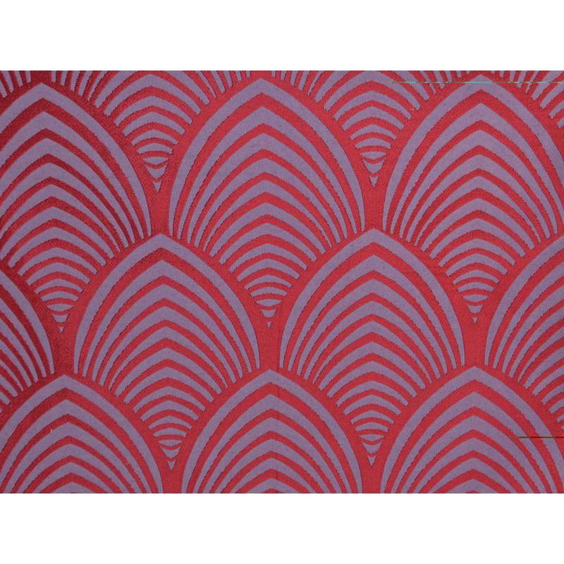 Edo fabric upholstery jacquard reversible seat L.140cm bordeaux Tavana 1677714 meter