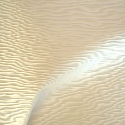 Vibration Tissu ameublement aspect cuir L.140cm blanc Thevenon 1513910 le metre