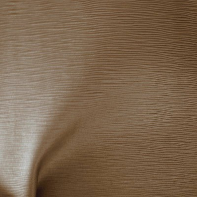 Vibration Tissu ameublement aspect cuir L.140cm taupe Thevenon 1513912 le metre