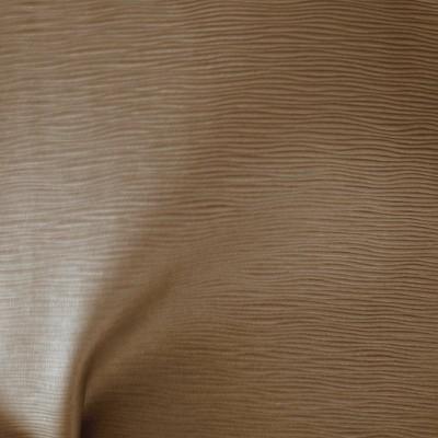 Vibration Tissu ameublement aspect cuir L.140cm taupe Thevenon 1513912 le metre
