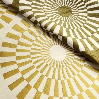 Canopee 2 coloris Rouleau tissu ameublement jacquard reversible La demi piece