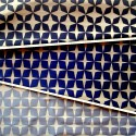 Psyche Star (3 coloris) Tissu ameublement jacquard reversible L.140cm pour siege motif etoiles Thevenon