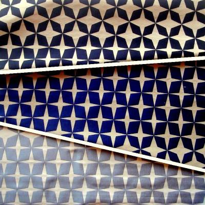 Psyche Star (3 coloris) Rideau à oeillets Etoiles Made in France jacquard réversible Le Rideau