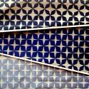 Psyche Star (3 coloris) Rouleau tissu ameublement jacquard reversible L.140cm motif etoiles Thevenon
