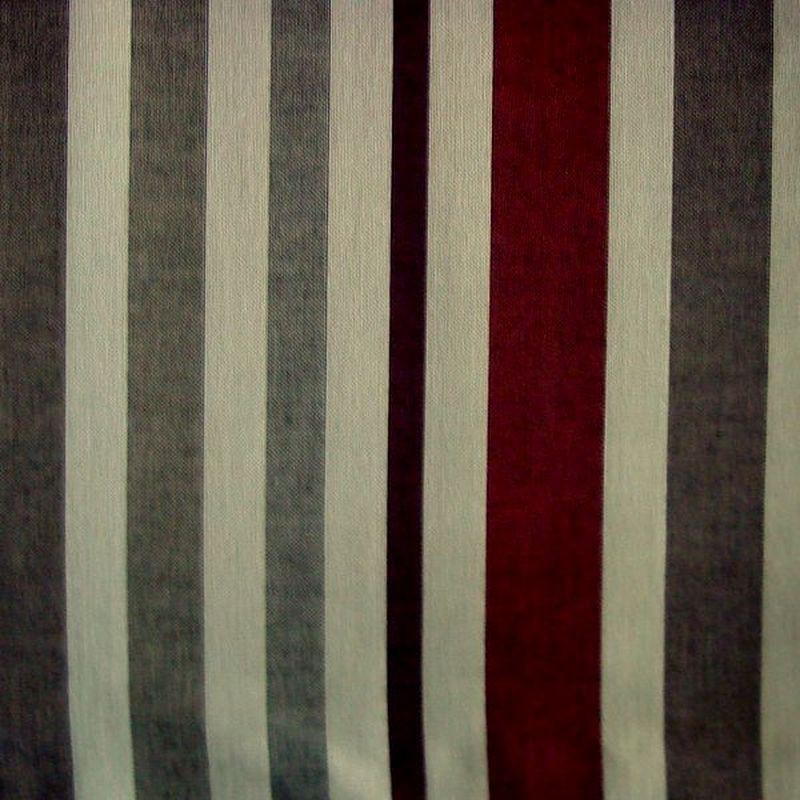 Mikado (4 coloris) Toile ameublement lavable non feu Trevira CS rayures Thevenon