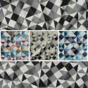 Dancer (4 coloris) Tissu ameublement jacquard à carreaux pour sièges Thevenon