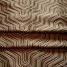 Astoria (2 coloris) Tissu ameublement jacquard graphique L.137cm Thevenon le metre
