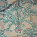 Bahia Tissu ameublement jacquard motif palmier spécial siège Thevenon