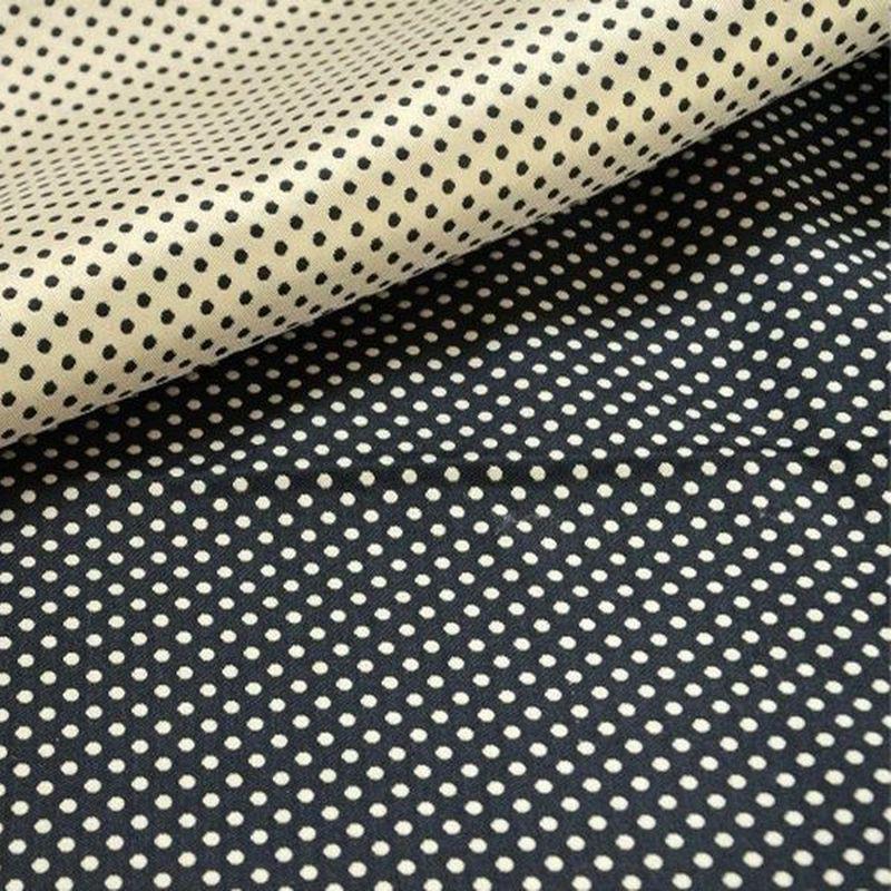 rideau pois prince dots tissu jacquard r versible thevenon. Black Bedroom Furniture Sets. Home Design Ideas