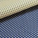 Prince Dots (4 coloris) Rouleau tissu ameublement jacquard reversible L.140cm pois Thevenon La piece ou demi piece