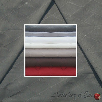 Dandy (7 coloris) Rouleau tissu ameublement jacquard uni grande largeur pour sièges Thevenon Pièce ou demi-pièce