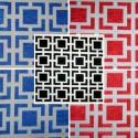 Oxygène (3 coloris) Tissu ameublement pour siège carreaux jacquard grande largeur Thevenon