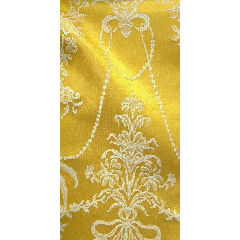 Louxor : Tissu ameublement jacquard haut de gamme par Thevenon Paris vendu à la pièce et demi-pièce