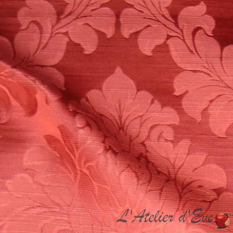Angora - Achat tissu bordeaux grossiste Thevenon
