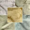 Angora (8 colours) fabric roller furniture United jacquard satin Thévenon Piece or half room