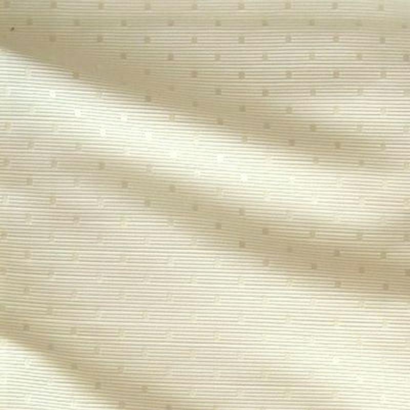 Molitor naturel Tissu ameublement jacquard à pois ton sur ton de Thevenon Paris