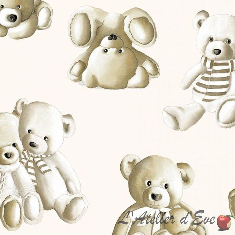Teddy cotton Percale wide Thévenon