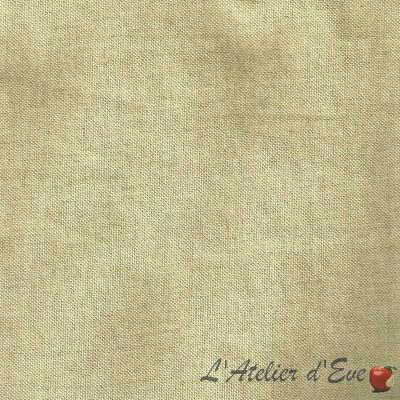 Tis Tissu ameublement grande largeur aspect naturel pour siège Thevenon