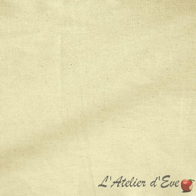 Bachette Rouleau tissu ameublement coton grande largeur pour siège Thevenon La pièce ou demi-pièce