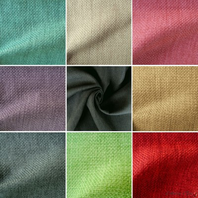 Bellini (26 coloris) Rouleau tissu ameublement faux uni Thevenon La pièce ou demi-pièce