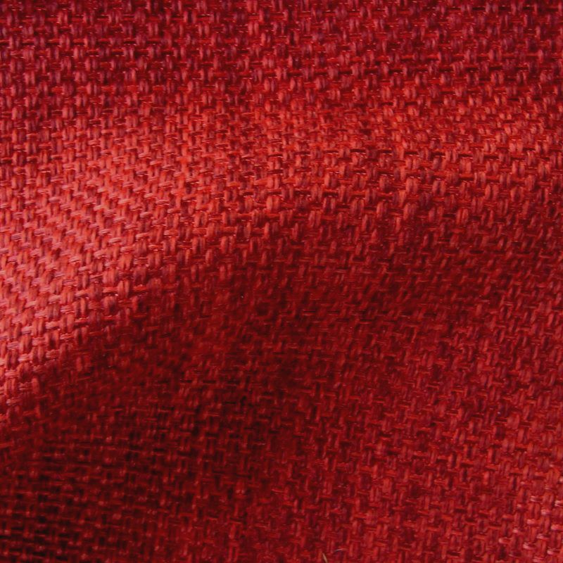 Bellini rubis - Rouleau tissu armure faux uni tissé vendu en pièce et demi-pièce