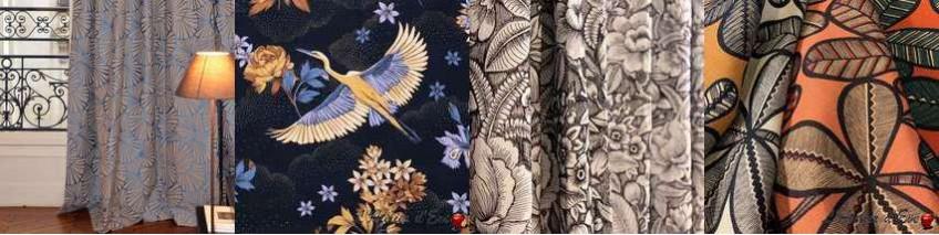 achat et vente de rideau oeillet fantaisies pr t poser. Black Bedroom Furniture Sets. Home Design Ideas