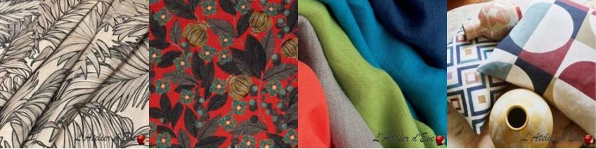 tissus lin lin pas cher aux coloris tendances. Black Bedroom Furniture Sets. Home Design Ideas