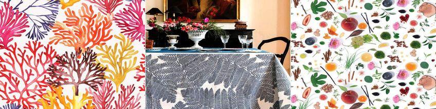 tissus nappes tissu enduit au m tre. Black Bedroom Furniture Sets. Home Design Ideas
