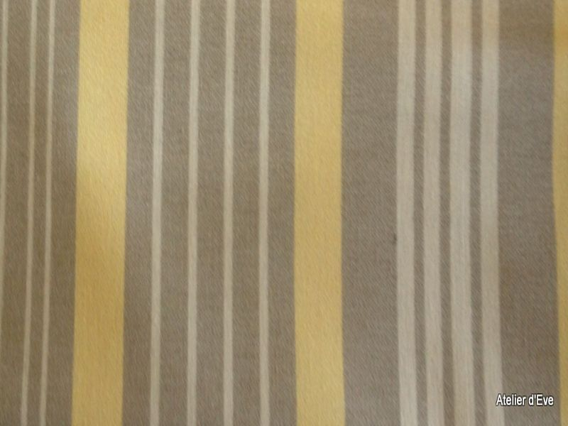 tissu ameublement rayures fond ficelle par alex tissu. Black Bedroom Furniture Sets. Home Design Ideas