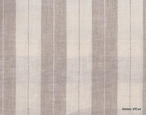 tissu ameublement lin rayure tissus rayures. Black Bedroom Furniture Sets. Home Design Ideas