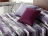 Iman 5 tailles Couvre-lit reversible patchwork lilas Reig Marti