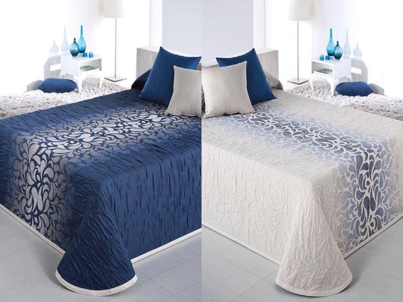 couvre lit bleu pas cher couvre lit ado dessus de lit pas cher boutis reig marti couvre lit. Black Bedroom Furniture Sets. Home Design Ideas