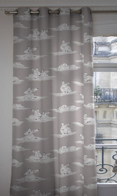 rideaux illets sur mesure rideau pr t poser rideau pas cher rideaux fantaisie animaux. Black Bedroom Furniture Sets. Home Design Ideas