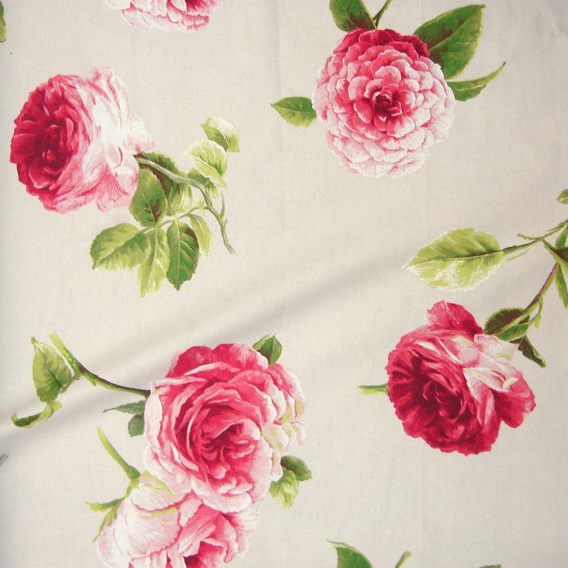 Rideaux tissu pour rideau rideau fleurs rideau fleurs for Tissu au metre pour canape