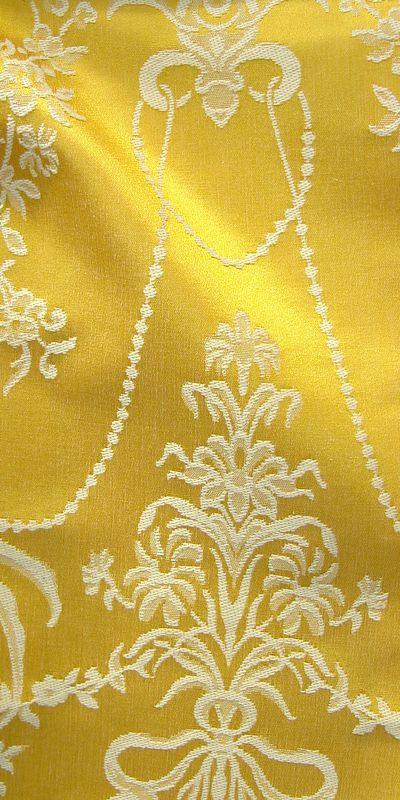 tissu jacquard tissu ameublement au mtre tissu jaune pas cher tissu baroque pas cher tissus. Black Bedroom Furniture Sets. Home Design Ideas
