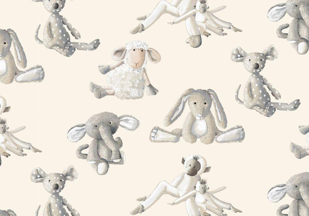 Rouleau de tissu d'ameublement Coton Thevenon colection Baby-lagon