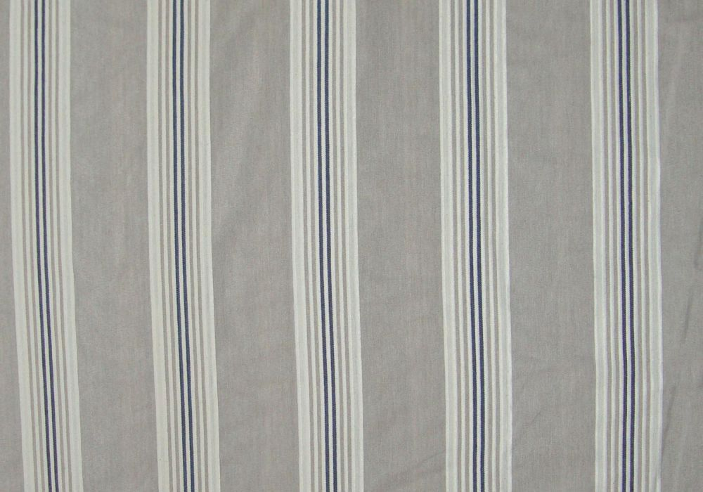 Tissu Ameublement Jacquard Thevenon Collection Calanque Bleu