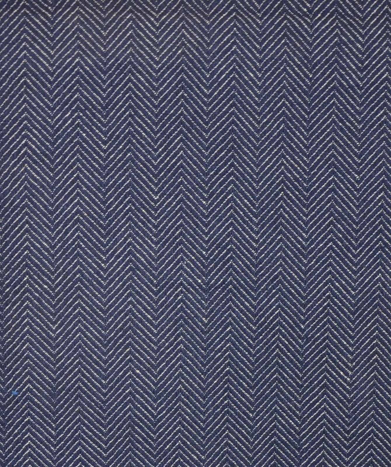 Tissu d'ameublement grande largeur Jacquard Collection cosmos-bleu de thevenon