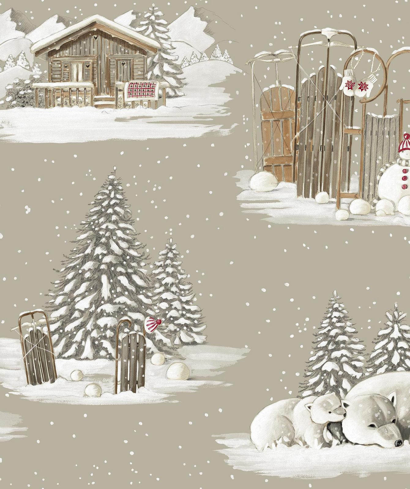 Rideau à œillets Montagne coton Collection Blanc Comme Neige Thevenon