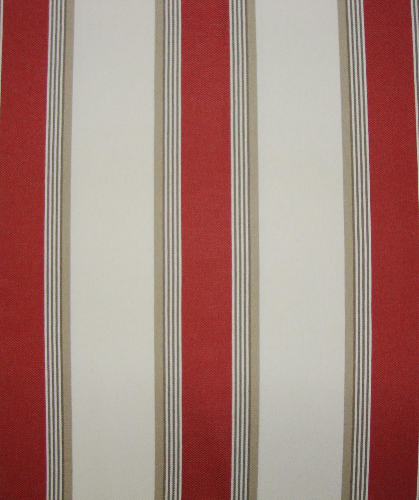 Tissu Grande Largeur Amario Rouge