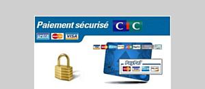 Paiement sécurisé avec le CM-CIC ou Paypal