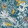 Perroquets mania fond lagon