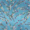 Fleurs d'amandier bleu 2218602