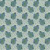 Morning Glory blanc/bleu fond vert d'eau 2185612